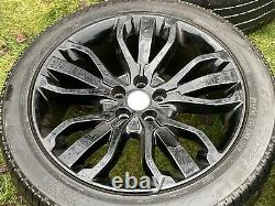 GENUINE x FACTORY 21 RANGE ROVER VOGUE SPORT DISCOVERY ALLOY WHEELS TYRES