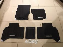 Genuine All New Range Rover Rubber Footwell Mats (VPLGS0149)