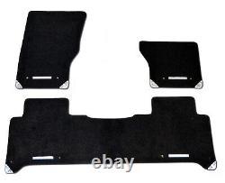 Genuine Range Rover Sport Black Carpet Mat Set 2014 Onwards