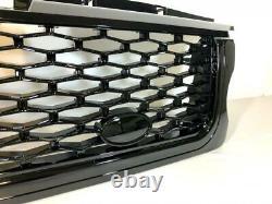 Gloss Black Front Grille & Side Vents Black Mesh Range Rover Sport 2005-9 L320
