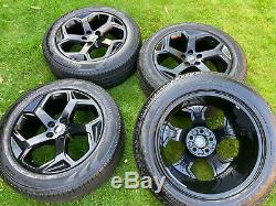 Gloss Black Genuine Land Rover Discovery Range Rover Sport Vogue Alloy Wheels