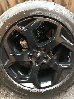 Gloss Black Genuine Land Rover Discovery Range Rover Sport Vogue Alloy Wheels OE