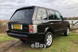 IMMACULATE AND LOW MILEAGE LAND ROVER RANGE ROVER VOGUE 4.4 V8 4x4 L322