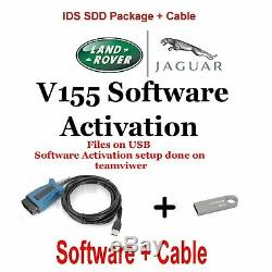 Jaguar Land Rover Range Rover Diagnostics kit IDS SDD JLR 157 + Cable