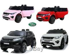 Land Range Rover Discovery Hse 12v Kids Electric Ride On Car Remote Control