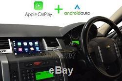 Land Range Rover Sport 2005-09 GPS Bluetooth Sat Nav Android Apple CarPlay 2+32