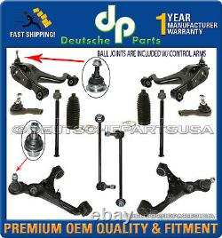 Land Range Rover Sport Front Lower Upper Control Arm Ball Joint Suspension Kit