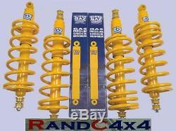 Land Rover Defender 90 +2 Super Gaz Lift Kit Springs & Shock Absorbers x4