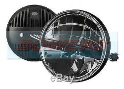 Land Rover Defender Truck-lite 27291c 7 Inch Round Full Led Headlamp Headlight