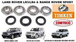 Land Rover Lr3 Lr4 Range Rover Sport Front Differential Bearing Kit Diff Rebuild