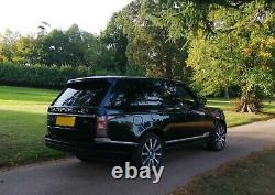 Land Rover Range Rover Black 2012 3.0 TD V6 Vogue SE Auto 4WD 5dr