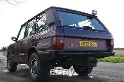 Land Rover Range Rover Classic Factory 200tdi