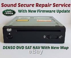 Land Rover Range Rover L322 Sports Discovery3 DVD DENSO SAT NAV Repair Service