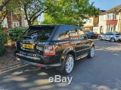 Land Rover Range Rover Sport 3.0 TD V6 HSE 5dr 2011 Black
