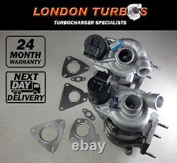 Land-Rover Range Rover Vogue 3.6TDV8 (Left & Right 61/62) 2 x Turbos + Gaskets