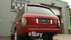 Land Rover Range Rover Vogue L322 V8 Exhaust System, Custom Build