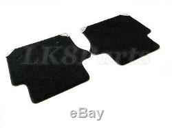 Land Rover Range Sport 06-12 Carpet Floor Mats Ebony Vplas0196pvj Genuine New