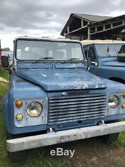 Land Rover defender on 100 inch 2 door Range Rover chassis