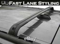 Oem Style Black Cross Roof Rails Bar Rack- For Range Rover Vogue L322 2002-2013