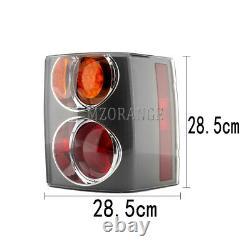 Pair Rear Tail Light Brake Lamp For Range Rover VOGUE L322 2002-2009 Amber/Red