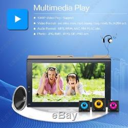Quad Core Android 6.0 WIFI 7 2DIN Car Radio Stereo GPS Nav Bluetooth Multimedia