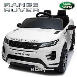 Range Rover Evoque Licensed 12v Kids Ride On Electric 2.4g Remote Control Car