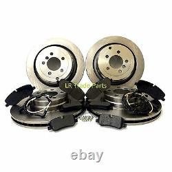 Range Rover L322 3.0 Td6 & 4.4v8 New Front & Rear Brake Discs & Pads Set (2006+)