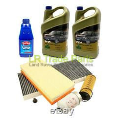Range Rover L322 3.6 Tdv8 Full Service Filter Kit Inc Oil, Filters Set (2006+)
