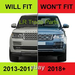 Range Rover L405 Vogue 2018 Facelift Style Front Grille Upgrade Black & Silver