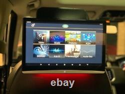 Range Rover Land Rover Rear 12.5 Touch Screens Entertainment Fitted