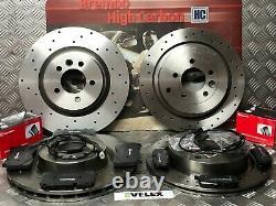 Range Rover Sport 3.6tdv8 Drilled Brake Discs & Brembo Pads Front & Rear