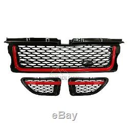 Range Rover Sport Black Led Tail Lights Autobiography Grille & Vents Upgrade Kit