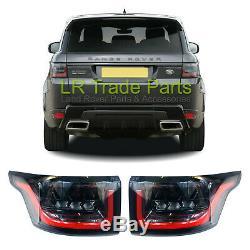 Range Rover Sport L494 2014+ Rear Led Tail Lights Lamp Upgrade 2018 Facelift Set