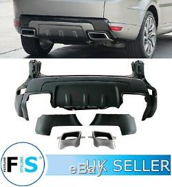 Range Rover Sport L494 2019 Look Rear Bumper Body Kit + Tailpipes To Fit 2013+