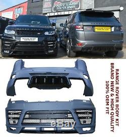 Range Rover Sport L494 LM Body Kit Black Pack Edition Front Rear Bumpers