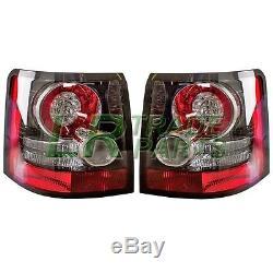 Range Rover Sport New Rear Black Led Tail Lights (pair) + Resistors 2012 Upgrade