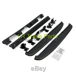 Range Rover Sport New Stealth Black Edition Side Steps Running Boards With Sills