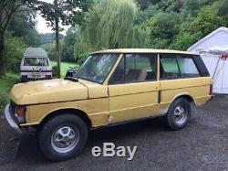 Range Rover Suffix C 2 Door Classic 1974