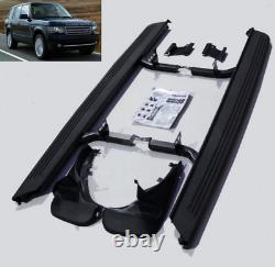 Range Rover Vogue L322 2002-12 OE Style Side Steps Running Boards Inc Mud Flaps