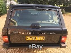 Range Rover classic 300tdi auto soft dash restored Original Dry stored mint