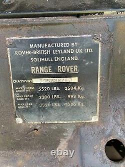 Range rover suffix d