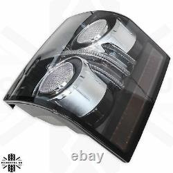 Rear Lights Black L322 2012 smoked LED for Range Rover 2010 autobiography tinted
