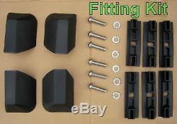 Roof bar kit for Range Rover L322 + locking cross rails rack box vogue HSE new