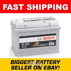 S5 008 Bosch S5 Heavy Duty 096 Car Van Battery S5008 5 Year Warranty