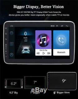 Single 1 Din Android 8.1 9 Quad-core RAM 1GB ROM 16GB Car Stereo Radio GPS OBD