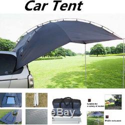 Single-layer Trailer Awning Sun Shelter SUV Awning Canopy Camper Roof Top Tent