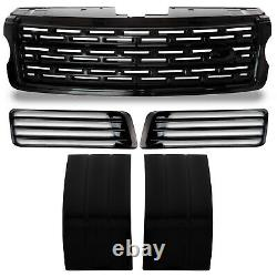 Sva Style Black Autobiography Grille Side Vents Air Ducts For Range Rover L405