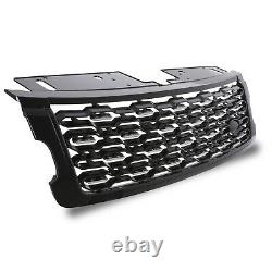 Sva Style Black Sport Front Grill Grille For Range Rover Sport L494 18-20