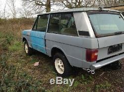 Two door classic Range Rover