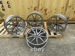 X4 22 Inch SVR Style Alloy Wheels Fits Range Rover Vogue Sport Disco SILVER SVR